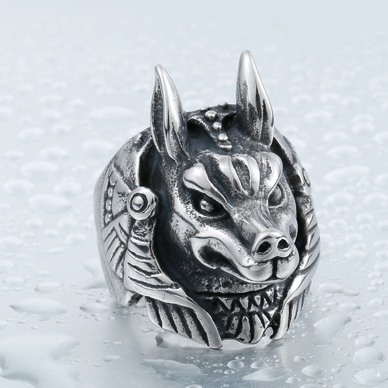 BEIER 316L Stainless Steel League legend Game Nasus Role Ring For Men Top Quality Jewerly BR8 800x800 - League of Legend Nasus Stainless Steel Ring