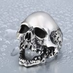 Beier Unique Original Style Skull For Man Stainless Steel Punk Man s High Quality Personality Men 150x150 - Unique Punk Skull Stainless Steel Ring