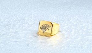 HTB11eNZNVXXXXc XVXXq6xXFXXX2 300x174 - Game of Thrones Ice Wolf Stainless Steel Ring