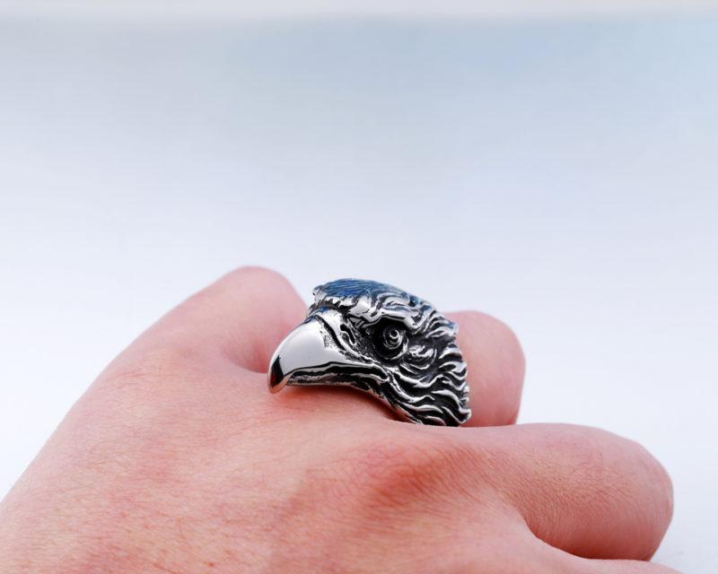HTB1AShiQXXXXXaFaXXXq6xXFXXXl 800x640 - EagleHead Stainless Steel Ring