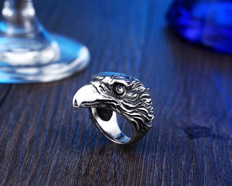 HTB1K.XNQXXXXXamXpXXq6xXFXXXE 800x640 - EagleHead Stainless Steel Ring
