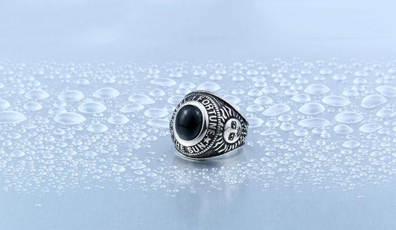 HTB1KlWwOXXXXXXwapXXq6xXFXXX0 800x465 - Wheel Of Fortune Obsidian Titanium Steel Ring