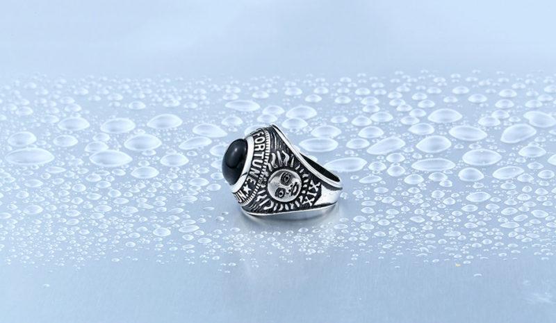 HTB1N35nOXXXXXaUaFXXq6xXFXXXj 800x465 - Wheel Of Fortune Obsidian Titanium Steel Ring