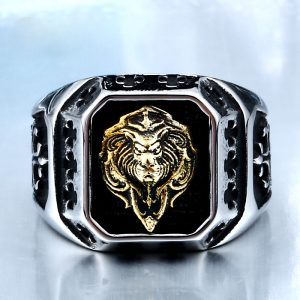 Lion Head Amulet Ring 1 300x300 - Lion Head Amulet Ring