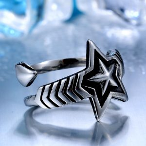 cody sanderson star stainless steel ring 04 300x300 - Cody Sanderson Star Stainless Steel Ring