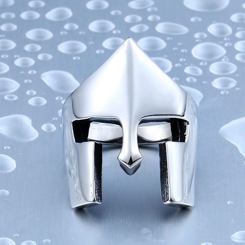 spartacus 1 800x800 - Spartacus Mask Movie Stainless Steel Ring