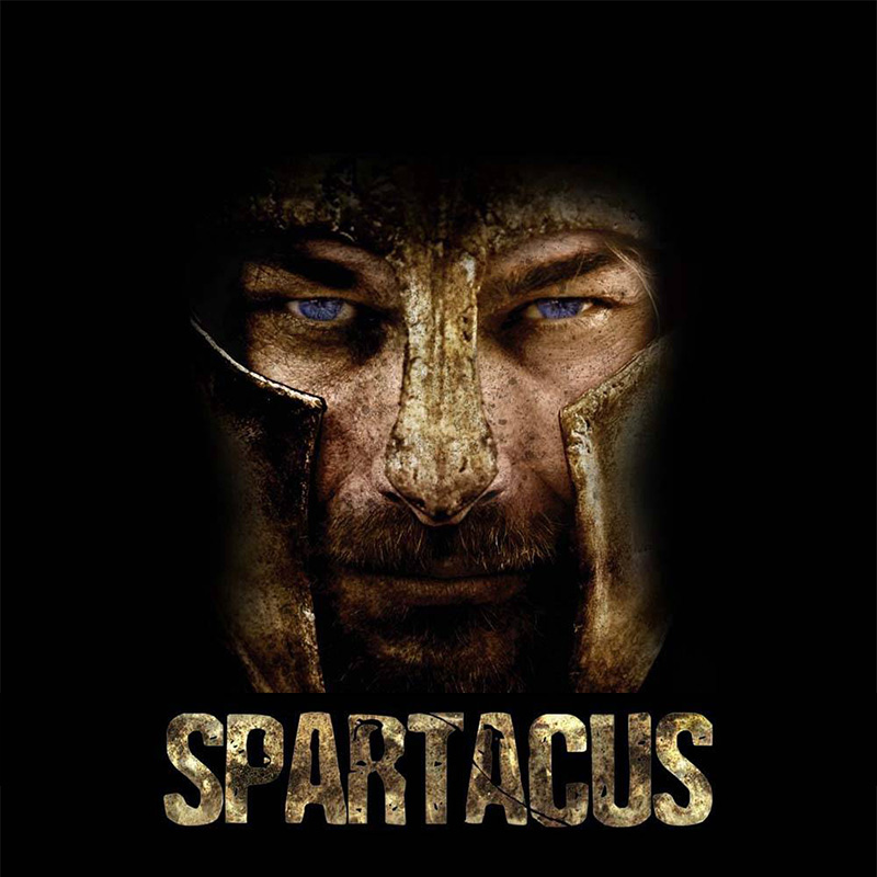 spartacus 1a - Spartacus Mask Movie Stainless Steel Ring