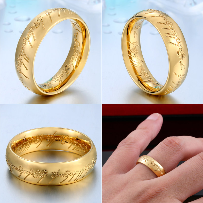 LOTR b - Lord of the Rings Stainless Steel Ring