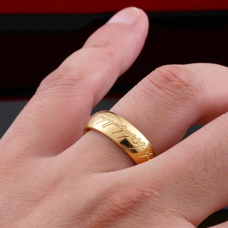 LOTR c - Lord of the Rings Stainless Steel Ring