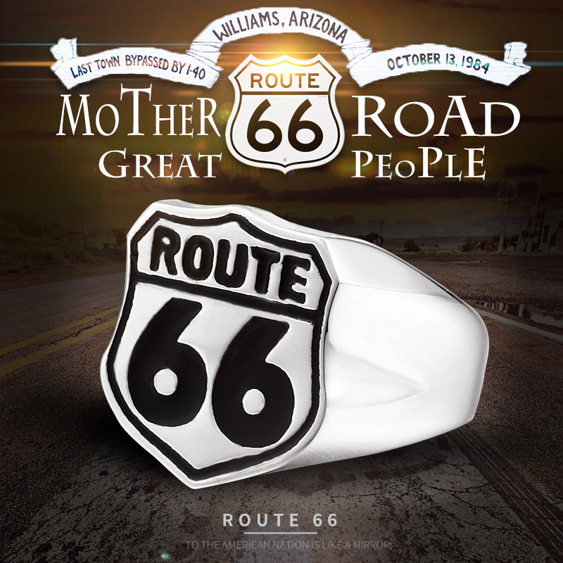 route 66 b - USA Biker Road ROUTE 66 Ring
