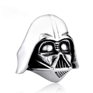 star wars 1 300x300 - Star Wars Darth Vader Mask Stainless Steel Ring