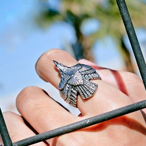 goros eagle stainless steel ring 2 300x300 - Goros Eagle Stainless Steel Ring