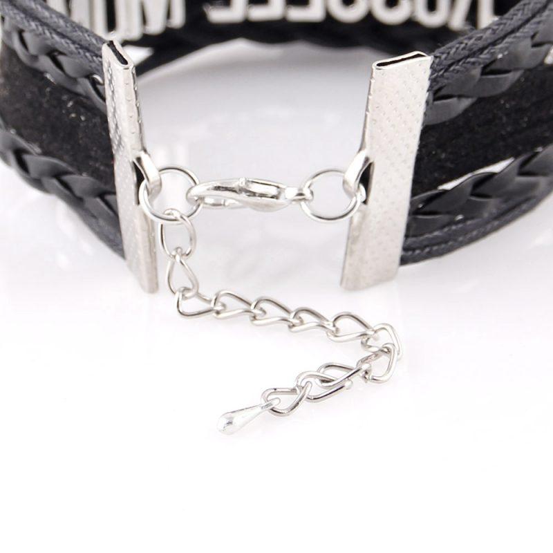 blue bloods heart charm bracelet 4 800x800 - Arrow Skull Angel Wings Biker Bracelet