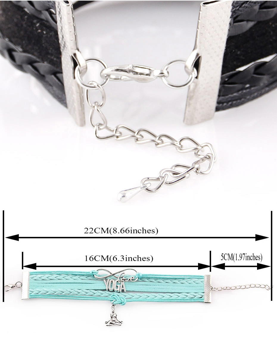 bracelet size - Blue Bloods Heart Charm Bracelet