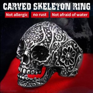 carved skeleton ring 300x300 - Carved Skeleton Ring