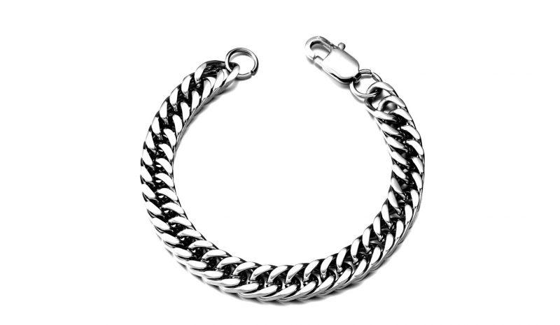 gourmete bracelet 1 1 800x465 - High Polish Gourmette Bracelet