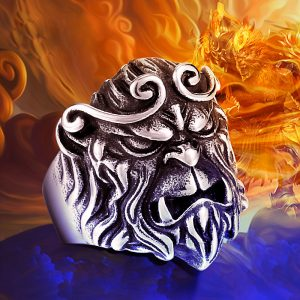 monkey king 01 300x300 - Monkey King Stainless Steel Ring