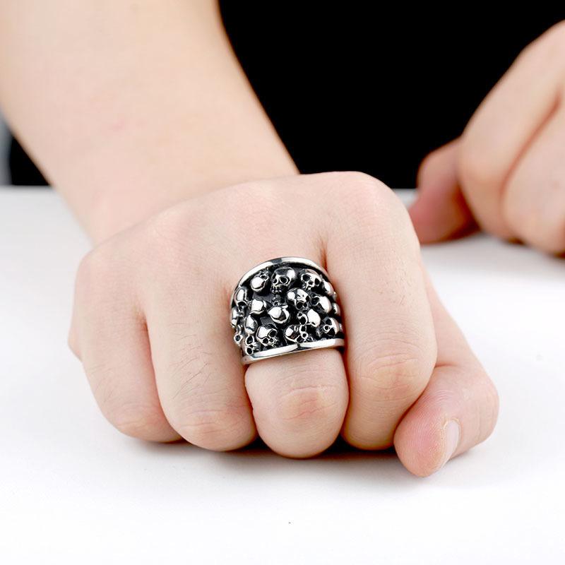 Crypt skull ring2 - Crypt Skull Ring