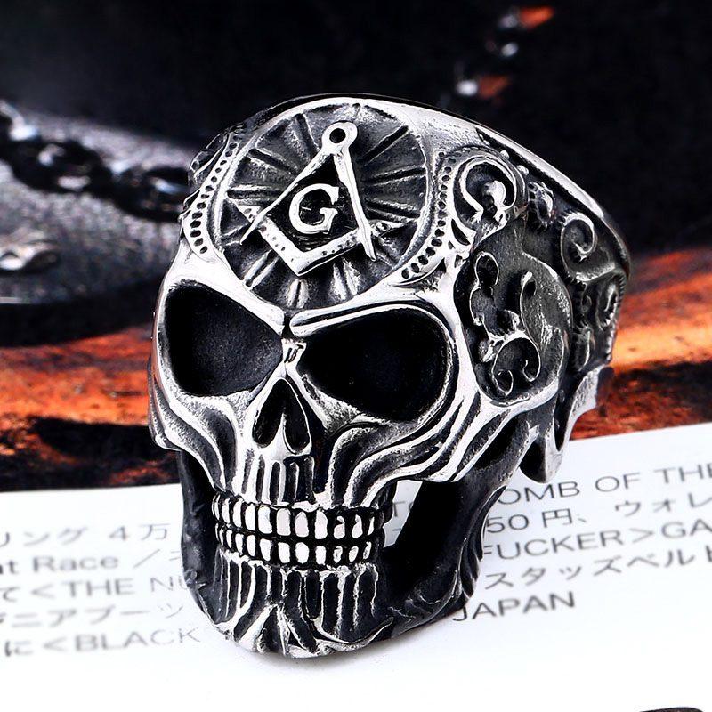 Masonic Skull Ring 1 800x800 - Freemasonry Skull Ring