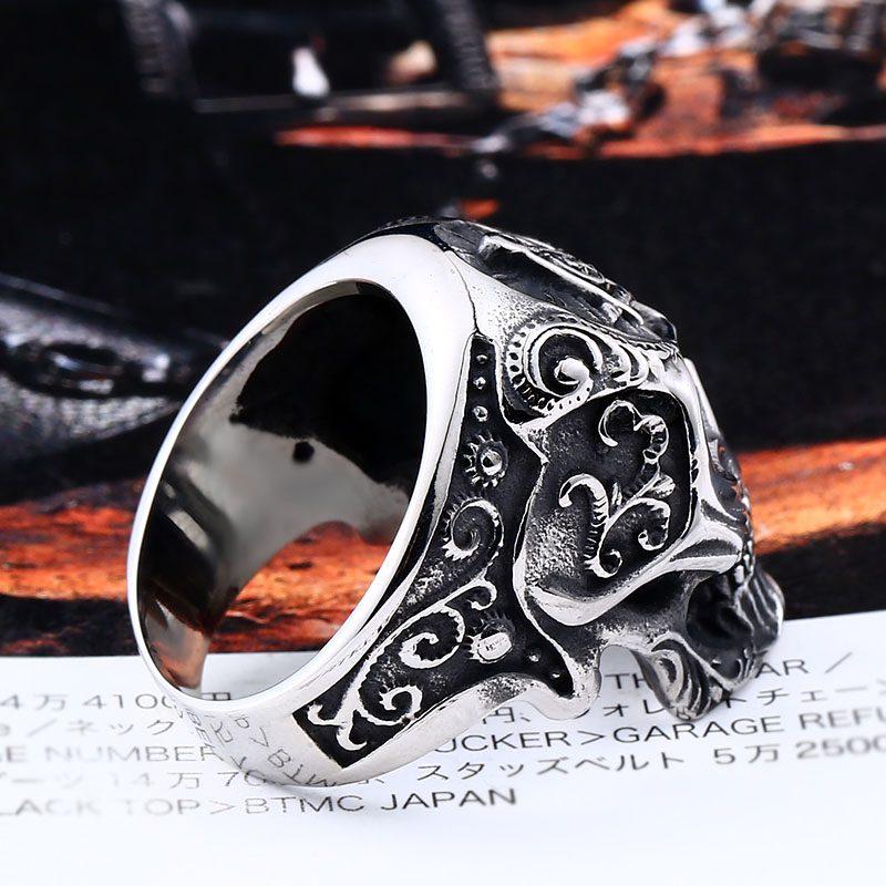Masonic Skull Ring 4 800x800 - Freemasonry Skull Ring