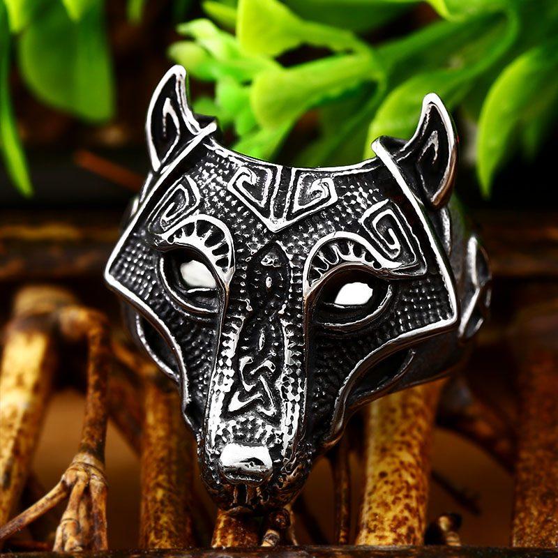 Norse Viking Wolf Ring 3 800x800 - Viking Fenrir Wolf Ring