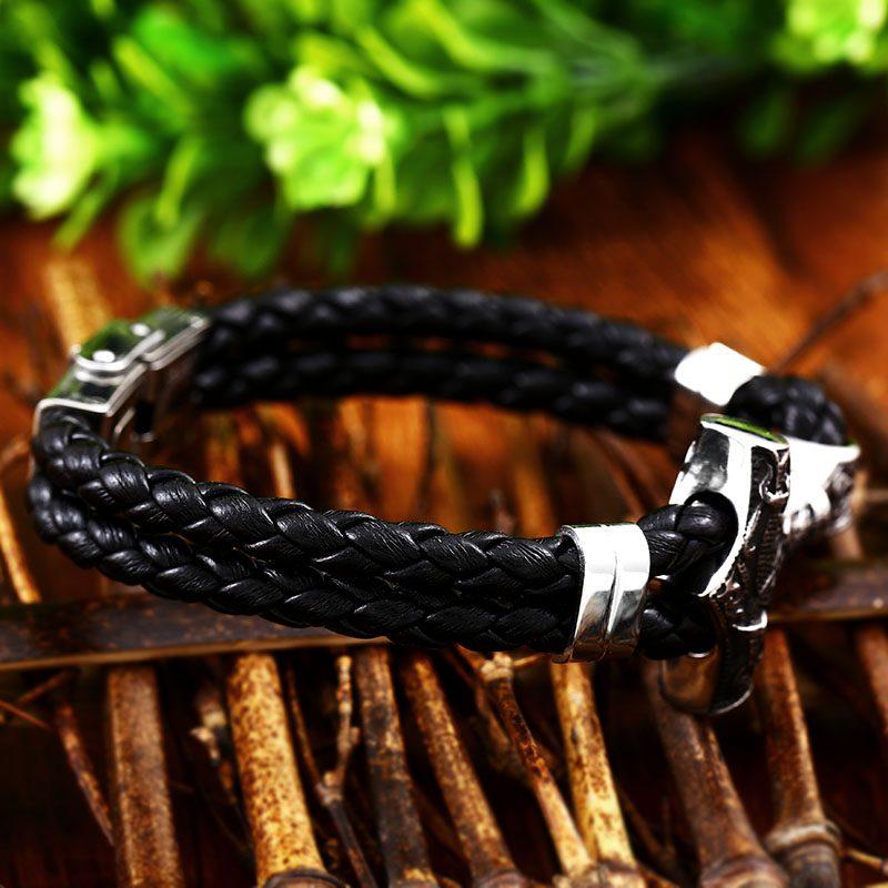 Thor Mjolnir Hammer bracelet 5 800x800 - Thor Mjolnir Hammer Bracelet