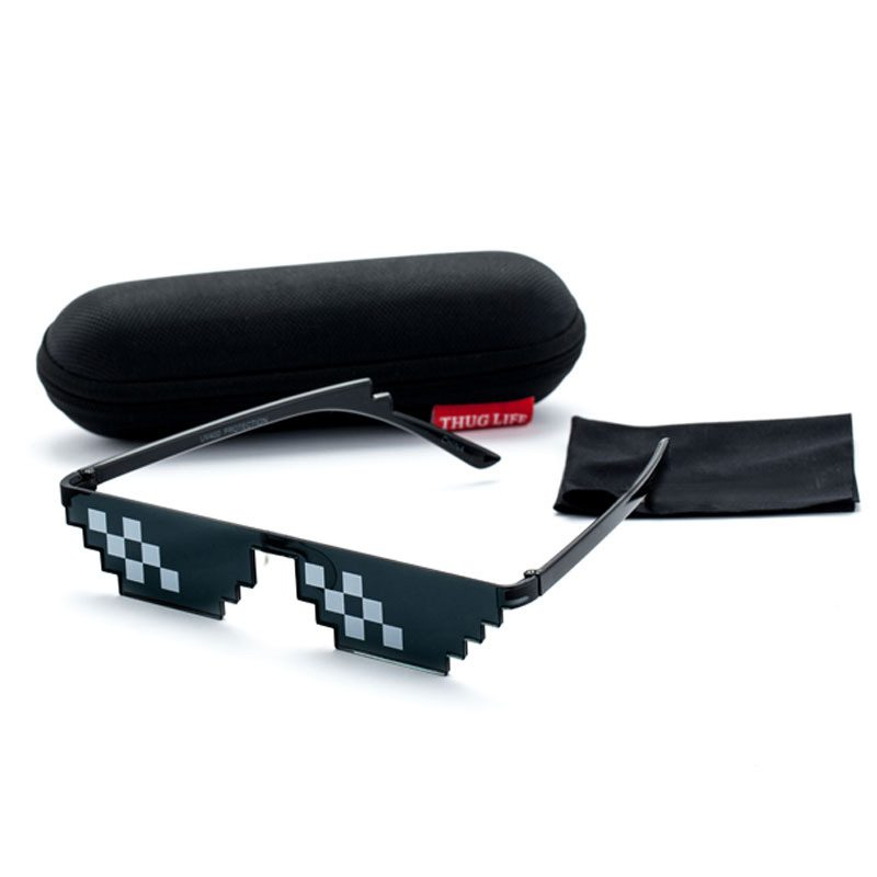 "Thug life limited edition glasses 1 800x800 - ""Thug life"" Pixel Sunglasses"