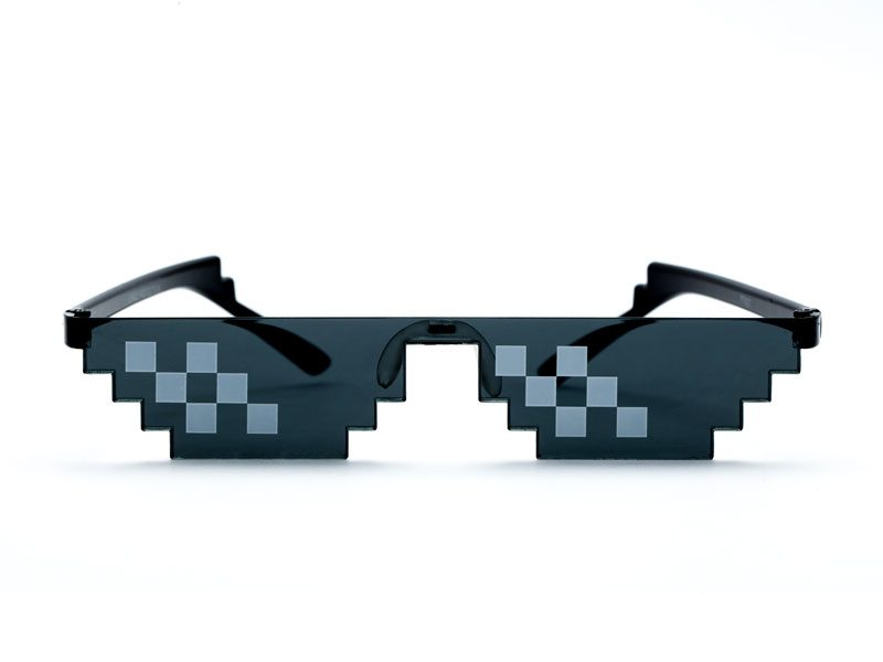 "Thug life limited edition glasses 2 800x600 - ""Thug life"" Pixel Sunglasses"