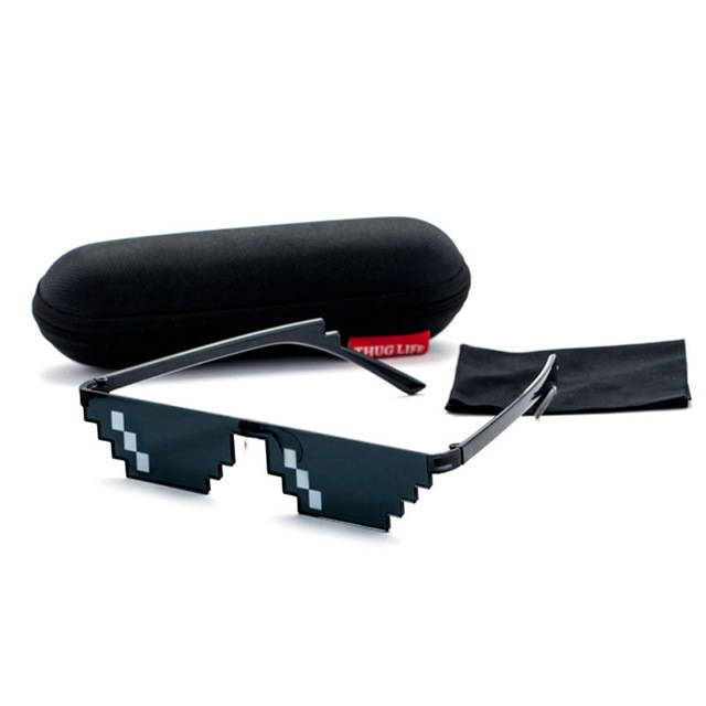 "Thug life limited edition glasses 6 - ""Thug life"" Pixel Sunglasses"