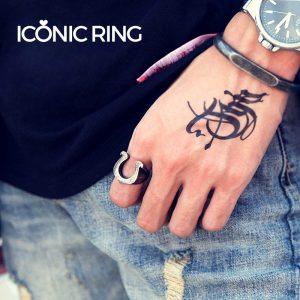 Viking Horseshoe ring 1 300x300 - Viking Horseshoe Ring