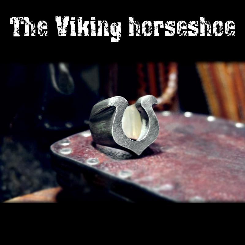 Viking Horseshoe ring 4 - Viking Horseshoe Ring