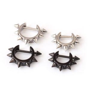 10987 38e25c1760f20302dac0213695b88e3e 300x300 - Punk Style Spikes Stud Earrings
