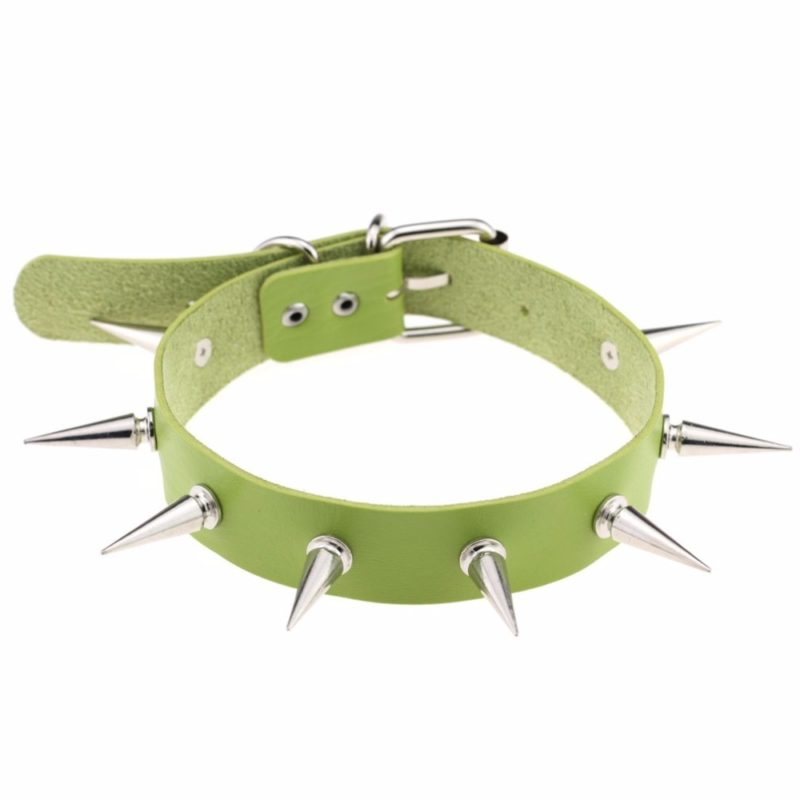 10995 92bfc9b38368eea2a38cece11e15e909 800x800 - Women's Punk Style Spikes Choker Necklace