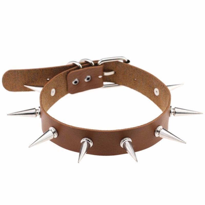10995 d88ea929bced2077e5a1d4a4f49e687b 800x800 - Women's Punk Style Spikes Choker Necklace