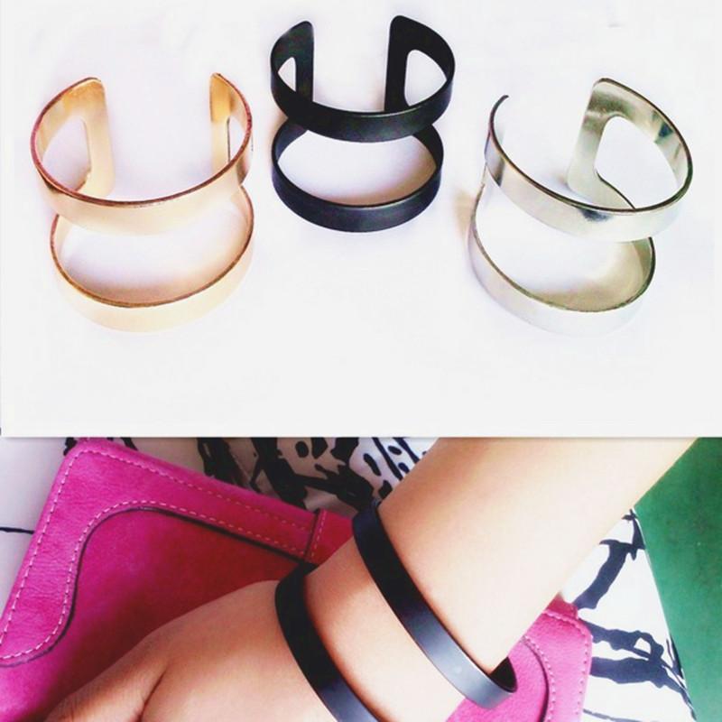 11021 03c68eceac49e4e7064af2798c46a370 - Geometrical Punk Rock Women's Bracelet