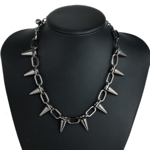 11039 f03427681a63f110d5c381fd367ef141 300x300 - Women's Punk Rock Style Spike Necklace
