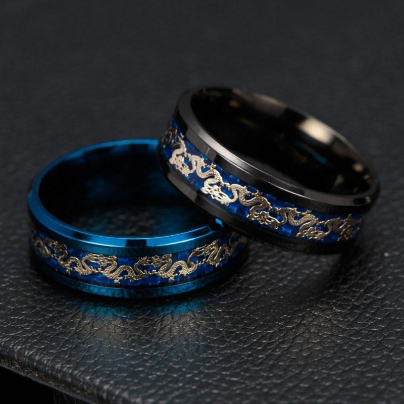 11179 14a869aa409f2c9cb813dd99d51e820c 800x800 - Men's Dragon Styled Titanium Ring