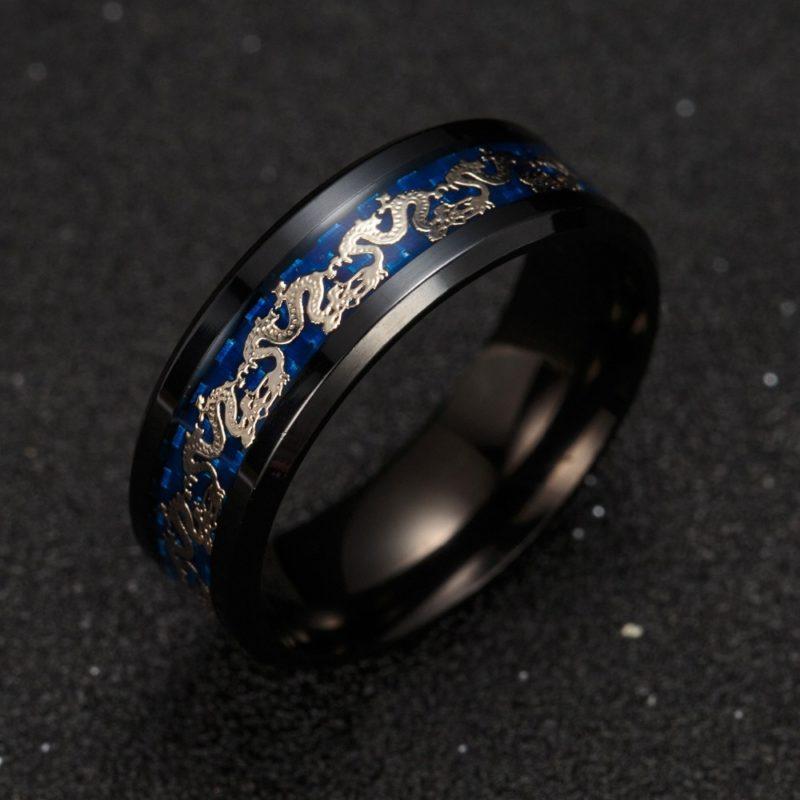 11179 5b8338577043b36dfd75ecb0150d8d18 800x800 - Men's Dragon Styled Titanium Ring