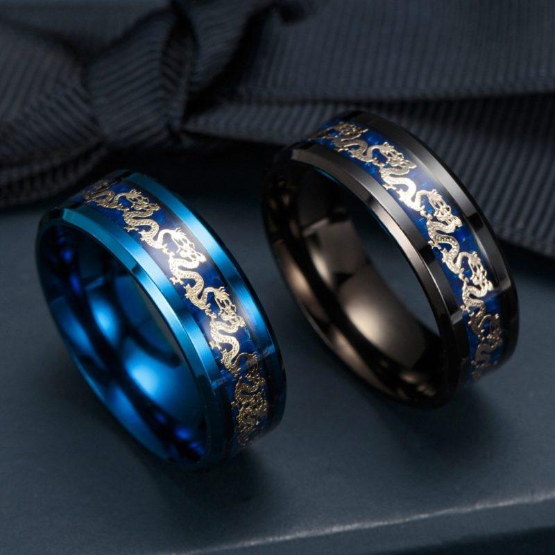11179 eaffbb0b8f47603f2807a8bf25fd38e7 800x800 - Men's Dragon Styled Titanium Ring