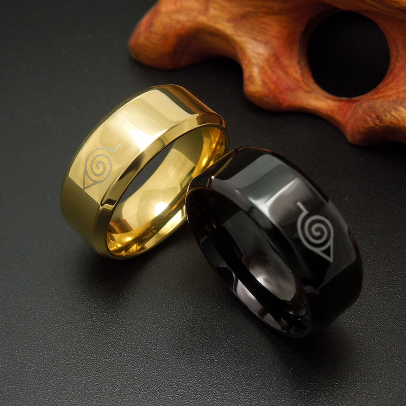 11205 08941f41c779f0a65d4de3a7e7e07030 - Naruto Themed Metal Ring
