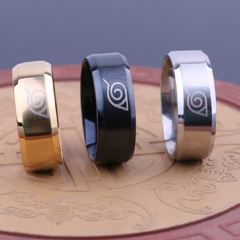 11205 bb0dfdd3cb15a1284f172bda62fd8c48 - Naruto Themed Metal Ring