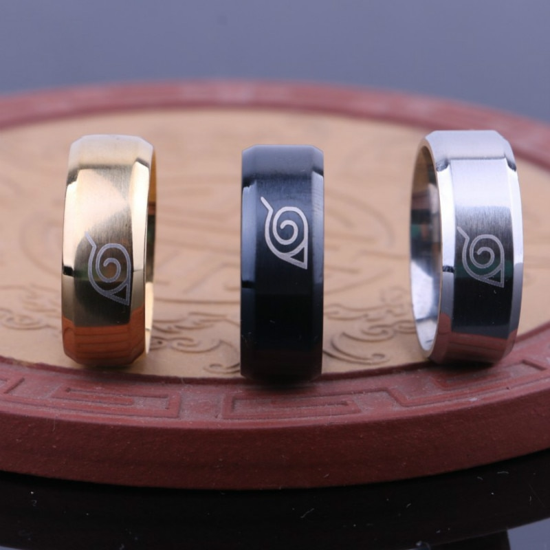 11205 ca4ae53e156d0cff7153cc9e5329a154 - Naruto Themed Metal Ring
