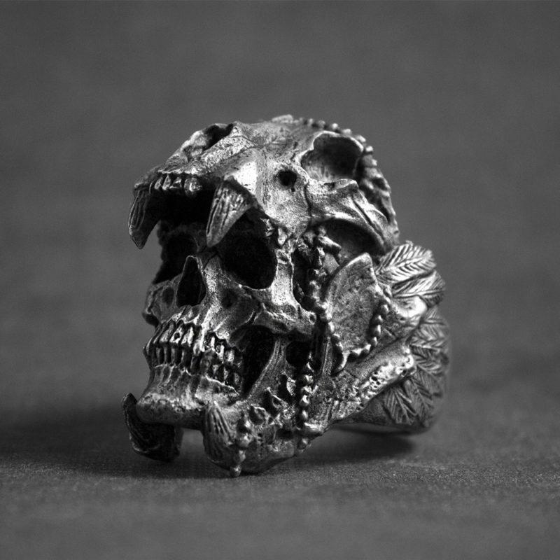 11237 9f5ee5ea06c564fa83267aaba2a526ae 800x800 - Men's Skull Shaped Ring