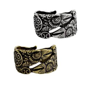 11255 ea1a1cffaaae878f29e33002e5996b44 300x300 - Ravens Patterned Men's Ring