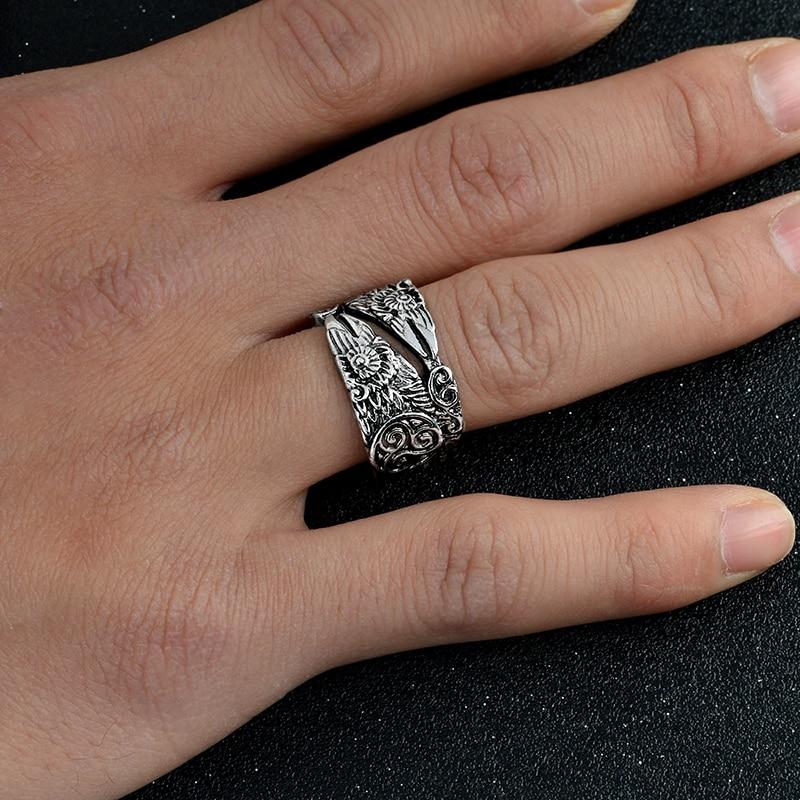 11255 f5624f1a05951e63c56cae19dc2c6591 - Ravens Patterned Men's Ring