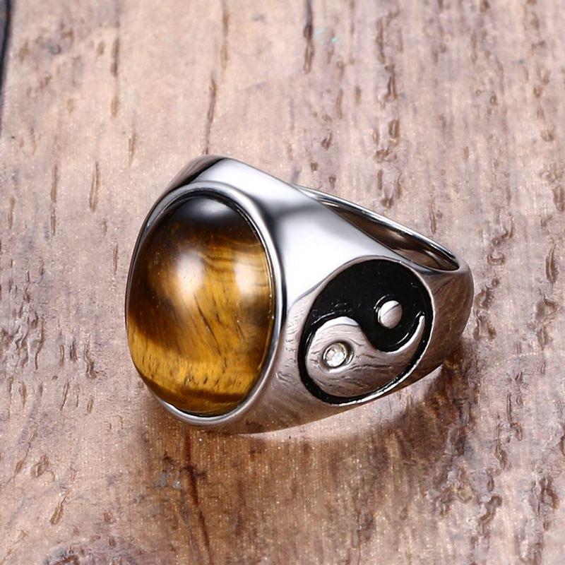 11393 a9603bf6c8dacc342a37fe7771780c3a - Tiger Eye Stone Yin Yang Symbol Ring