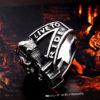 BEIER new arrive 316L Stainless Steel ring high quality Punk skull biker for men fashion Jewelry 3 100x100 - Biker Skull Ring