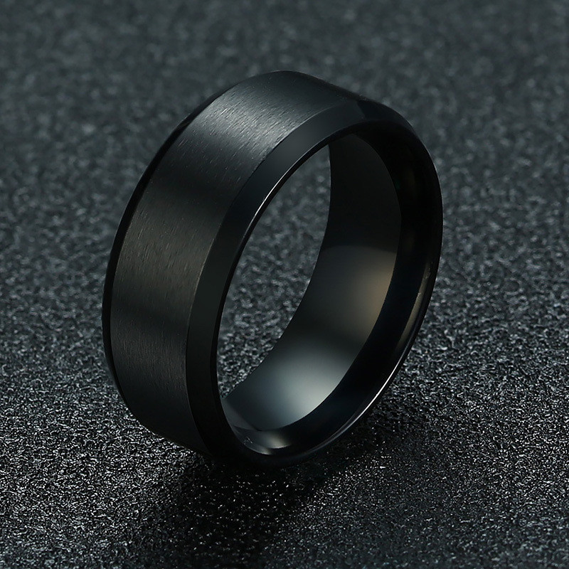 15110 727f715c80a74556cd865c439fddc4dc - Classic Stainless Steel Ring for Men