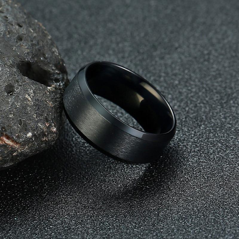 15110 f1a0b9d0e4d782b1d6c861506f963e0f - Classic Stainless Steel Ring for Men